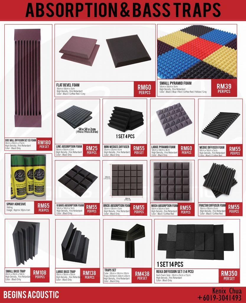Premium Acoustic Foam
