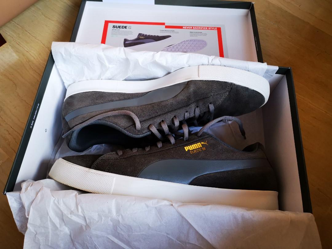 huge discount 2d8e8 c16cf Puma Suede G golf shoes, Men's Fashion, Footwear, Sneakers ...