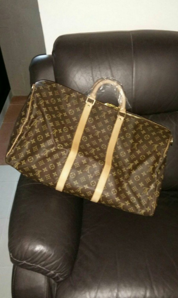 7ee01e6a7468  1280 Clearing Sale🔥 Authentic Louis Vuitton Monogram Keepall Bandouliere  Travel Bag ONLY