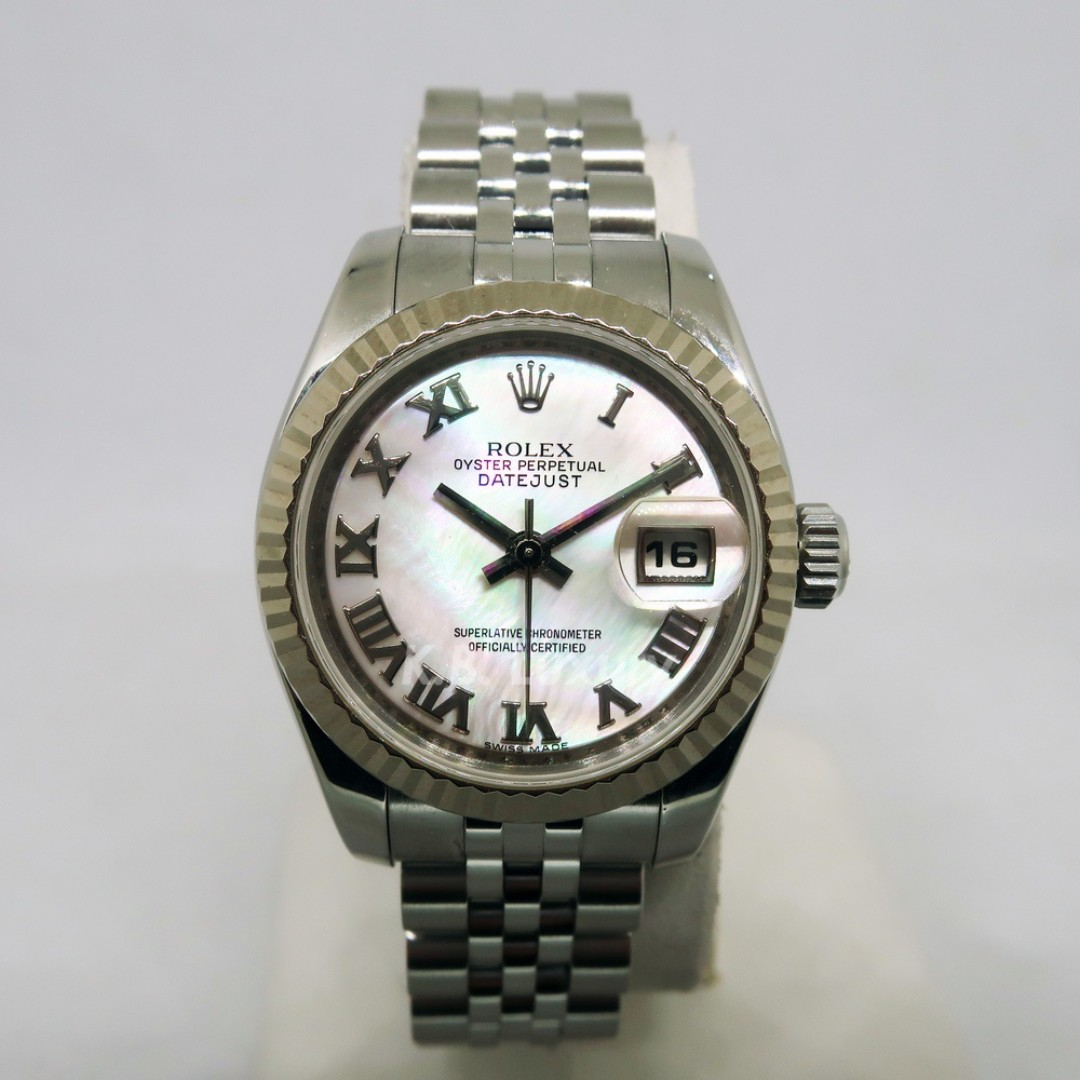 2cdaa3614a9 Rolex Ladies Datejust Mother of Pearl 179174, Luxury, Watches on ...