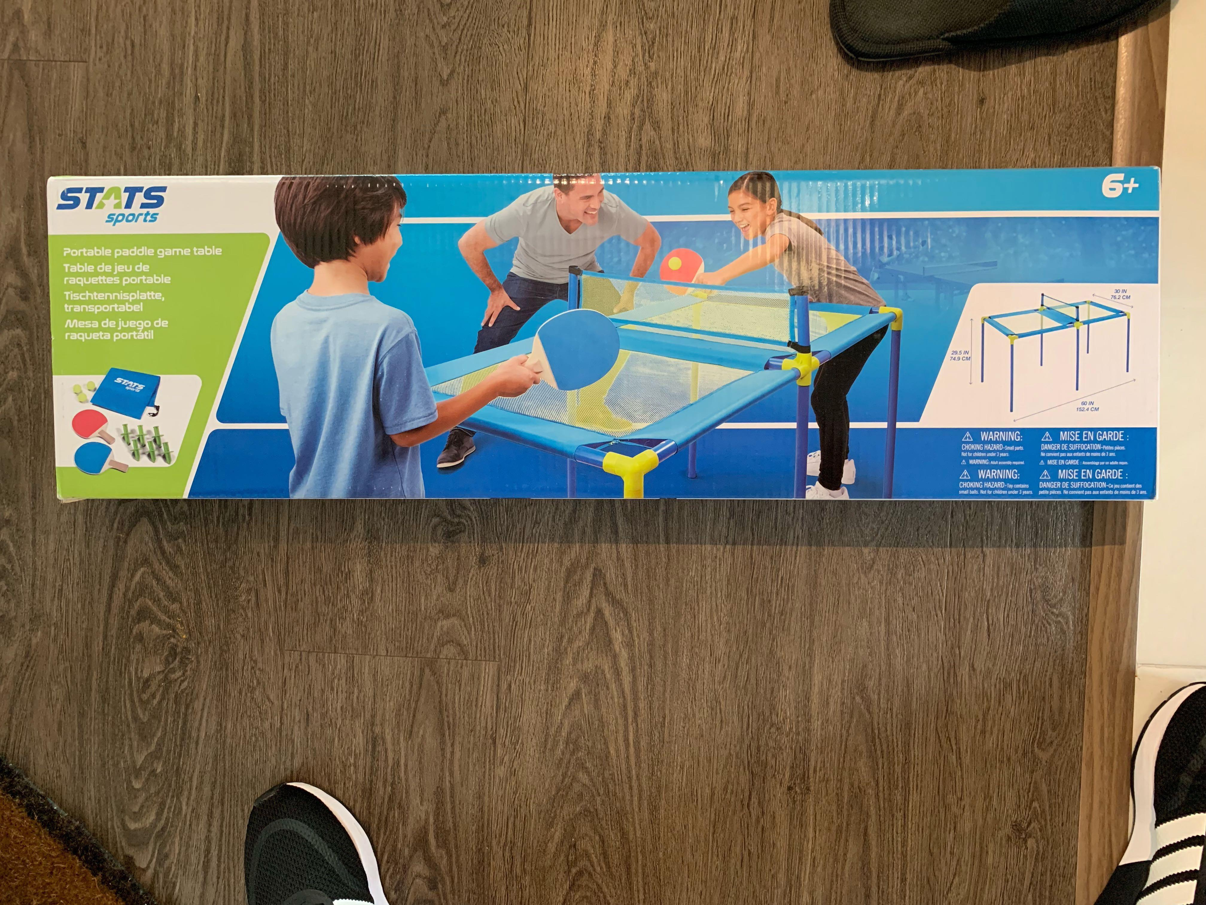 Stats Sports Table Tennis Ping Pong Set Toys Games