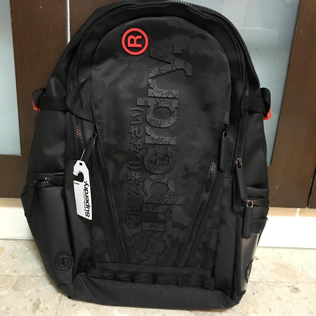 02a58538a Superdry Men's buff tarp backpack, Men's Fashion, Bags & Wallets, Backpacks  on Carousell