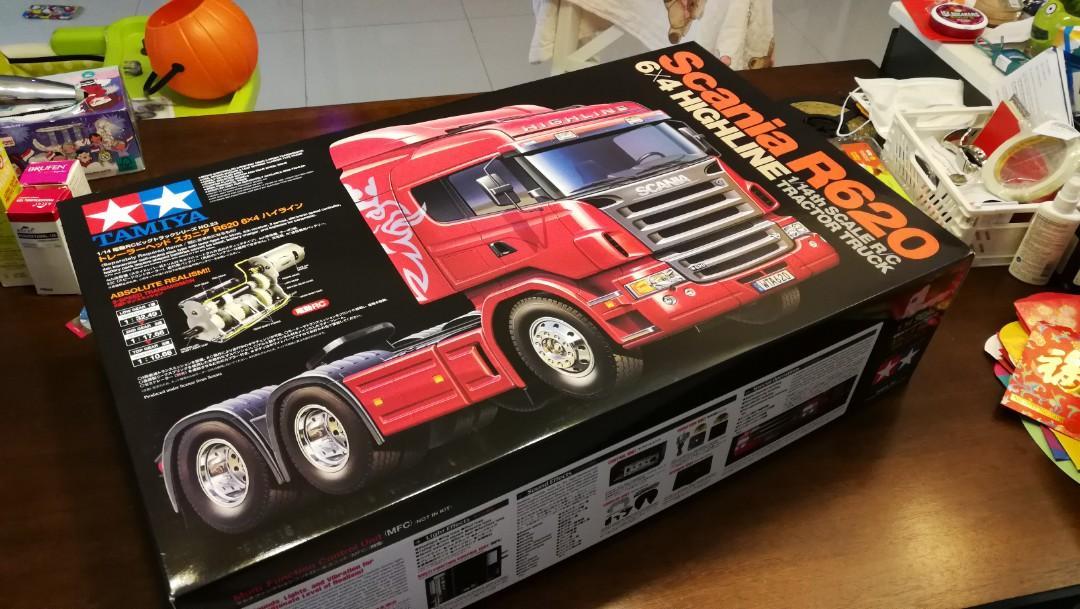 Tamiya R620 rc truck BOX ONLY