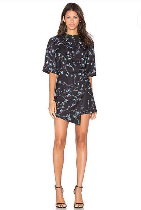 The Fifth Label Lightest Sky Playsuit (X-Ray Bloom Print) less than HALF price!
