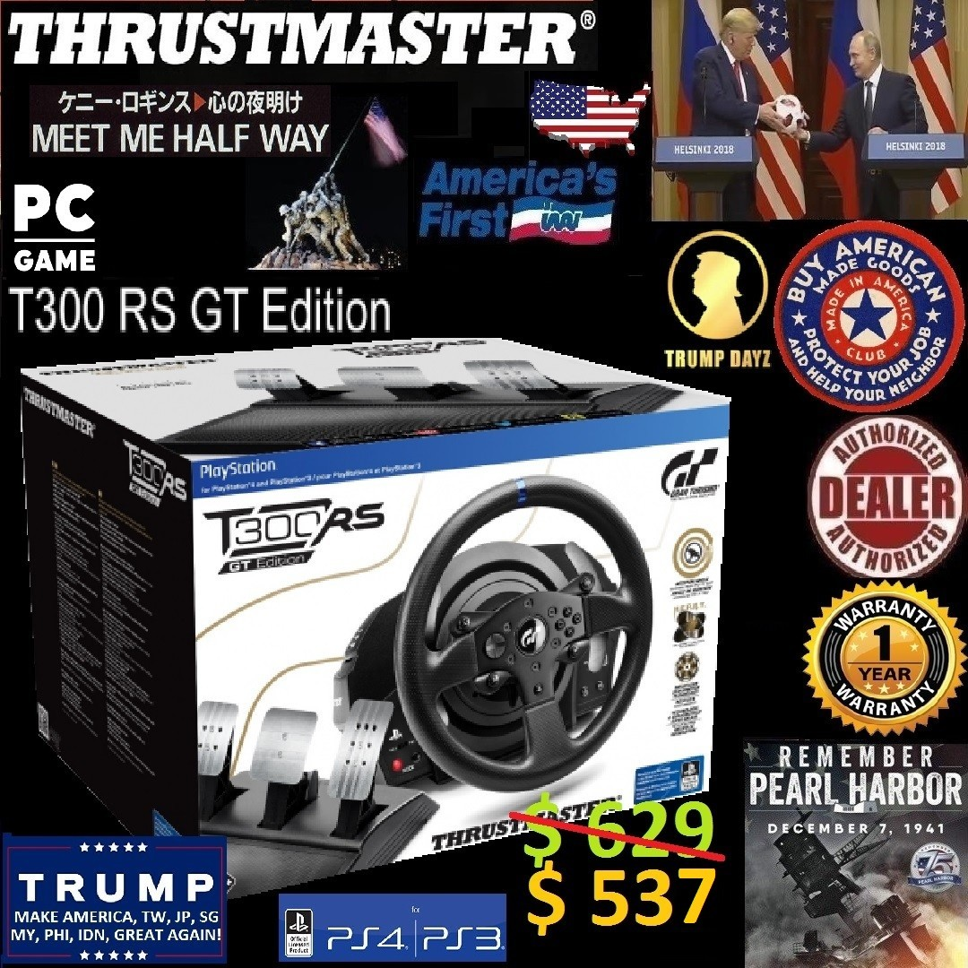 e928dfef9b9 Thrustmaster T300 RS GT Edition Official Sony licensed PS4®/PS3®/PC ...