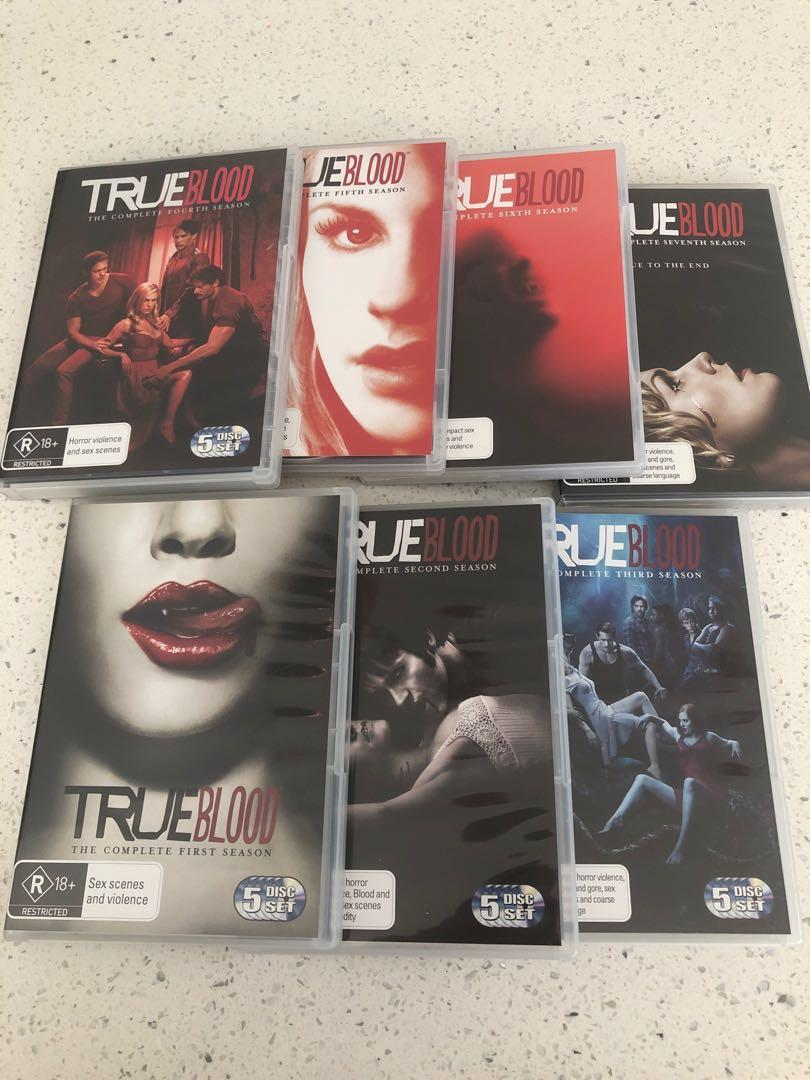 True Blood DVD Bundle