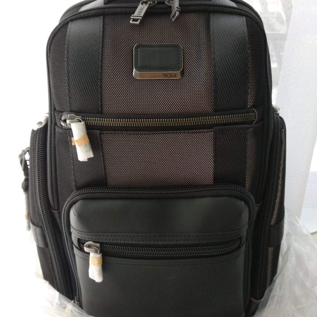 ad04cb740 Tumi Alpha Bravo Sheppard Deluxe Backpack, Men's Fashion, Bags ...