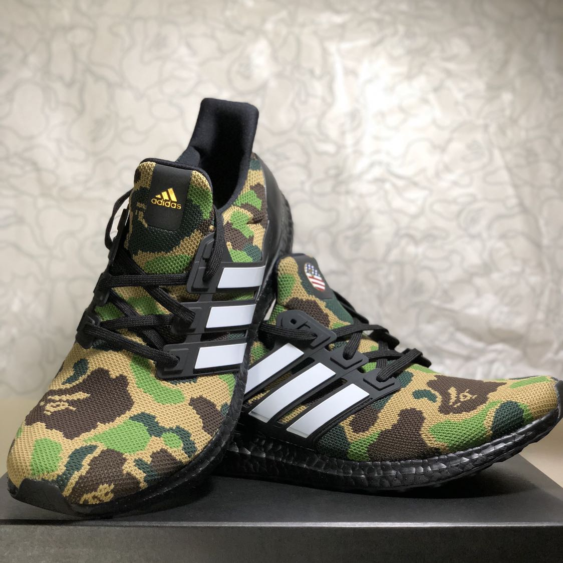 6cb92c870082a UK10.5  UltraBOOST BAPE Shoes