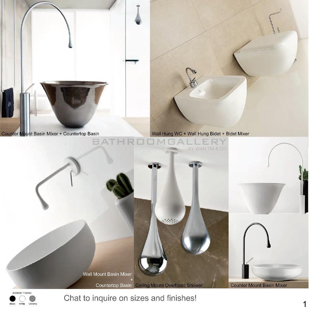 Unique Designer Bathroom Fittings