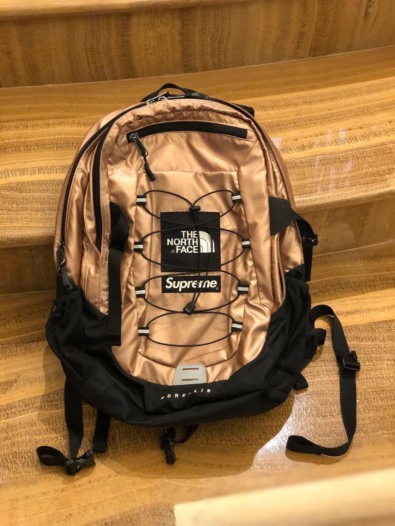 15de157cf USED Supreme x The North Face Metallic Borealis Backpack, Men's ...