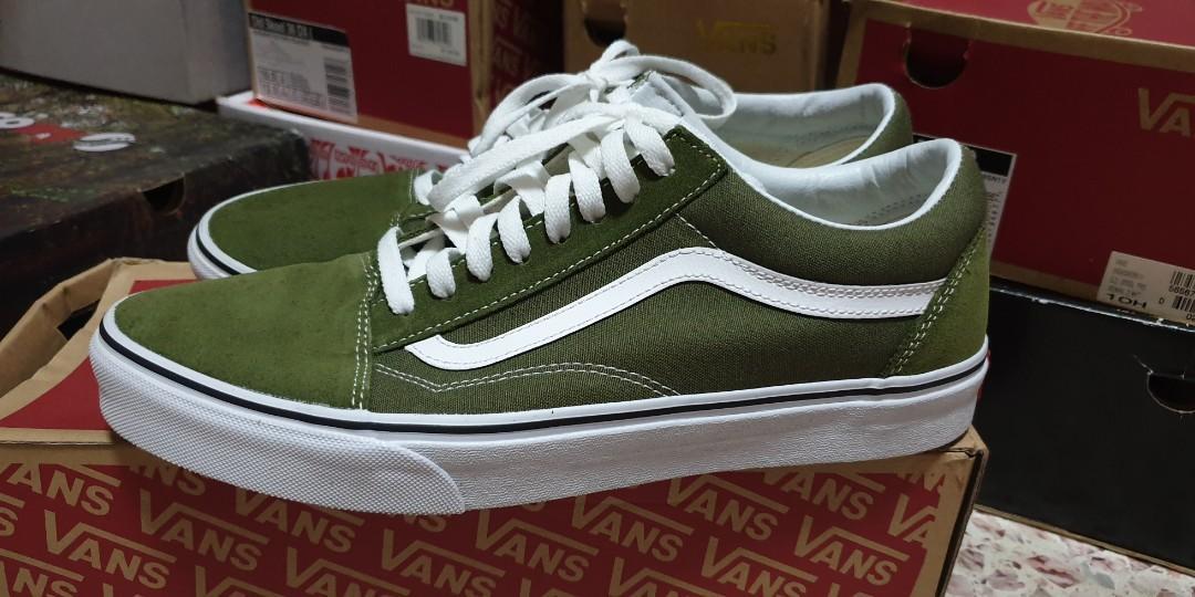 Vans Old Skool Olive Green, Men's
