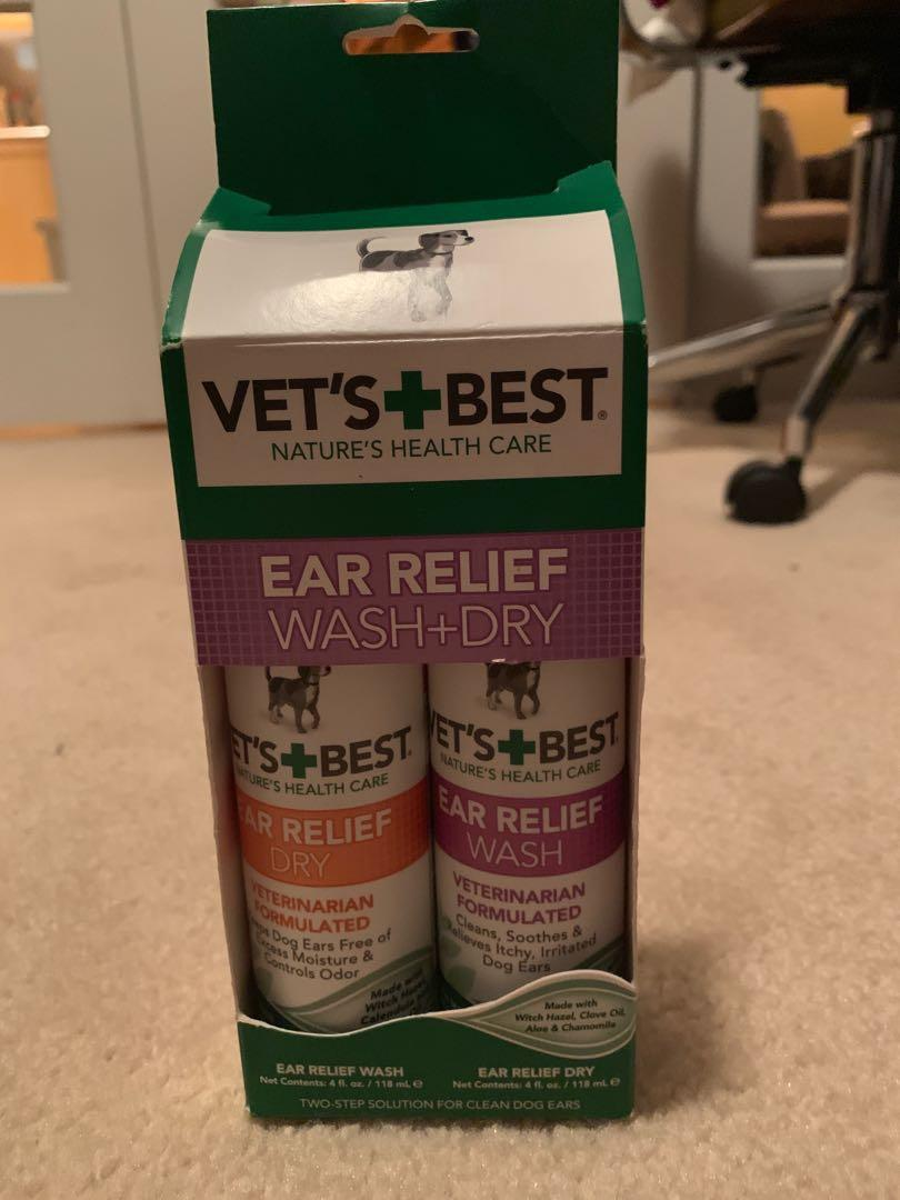 Vets best ear belief wet and dry