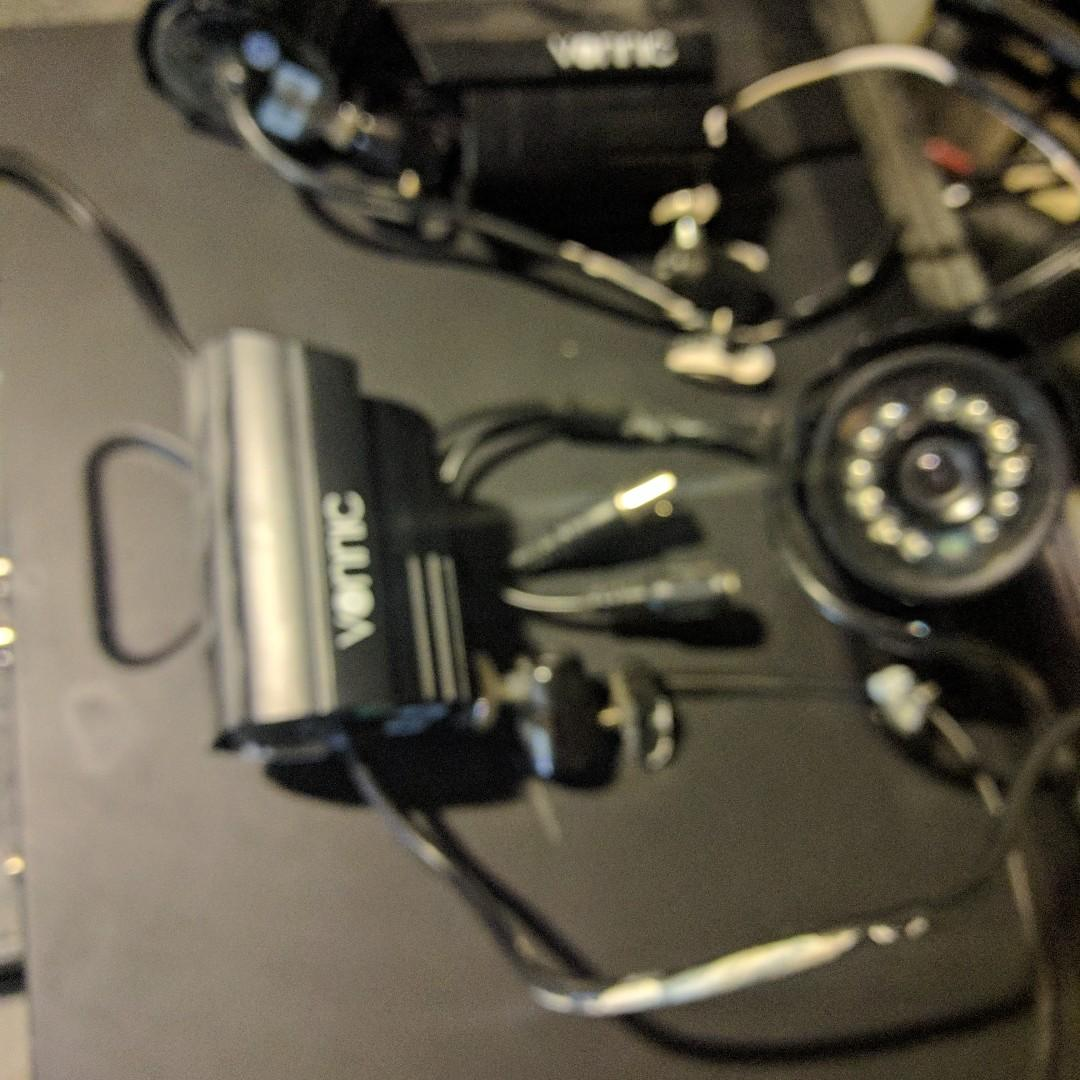 Vinnic 4 Cameras Security System with PVR, you might need to change HDD