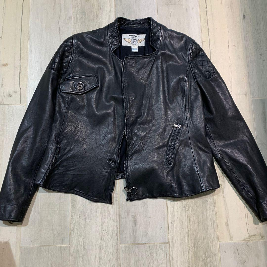 Vintage original DIESEL leather jacket