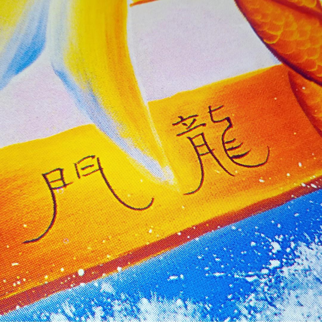 ⭐FREE Prosperity Wall art poster 魚躍龍門 - FOC Blessing #MRTYishun