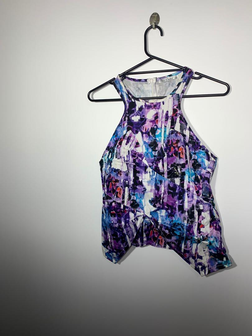 Wild Orchid purple top