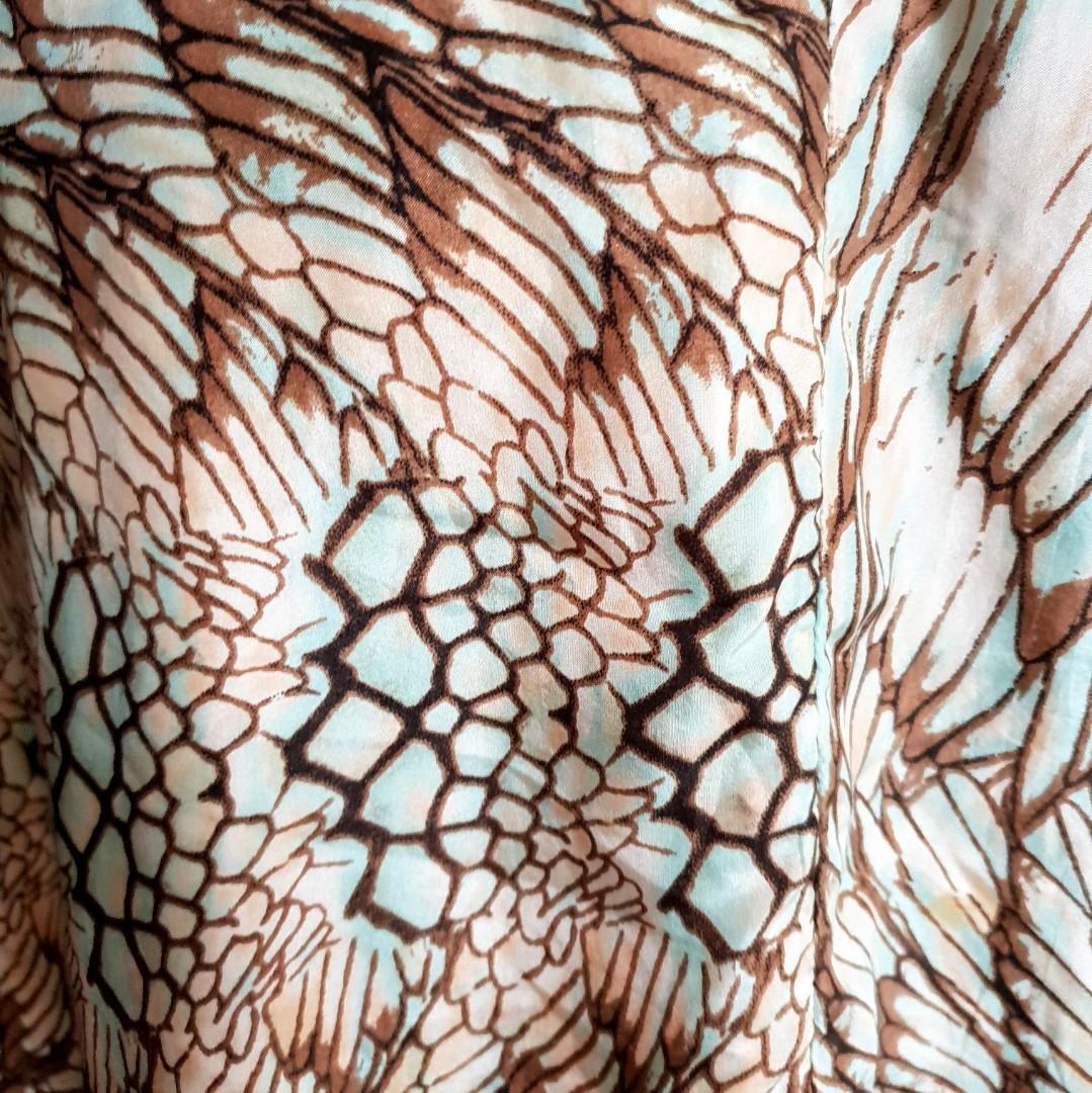 Women's size 10 'SHEIKE' Gorgeous multi-coloured maxi dress with ruffles- AS NEW