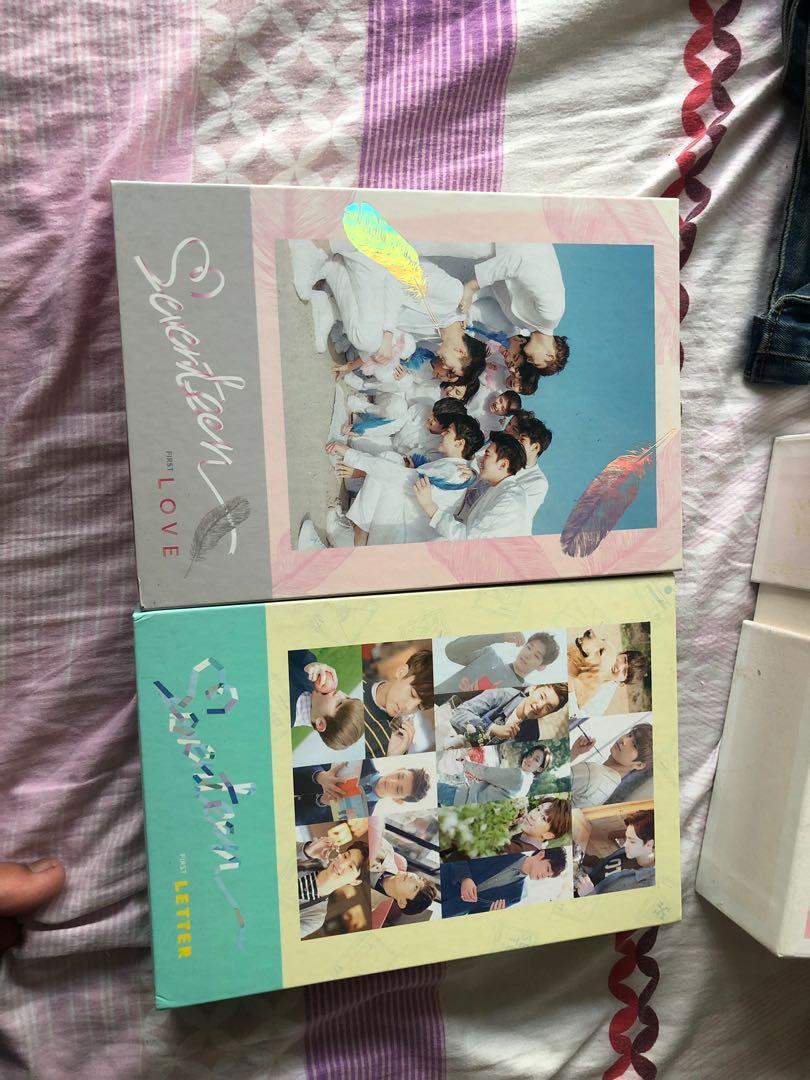 Wts seventeen love & letter album