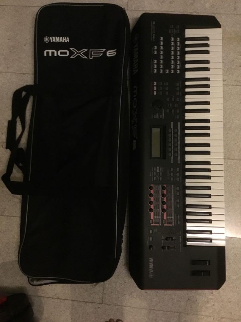 Yamaha Moxf6 Workstation Keyboard, Music & Media, Music