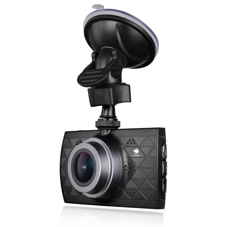 Z-EDGE Z3 Upgraded Version Dash Cam, 1440P Quad HD Car Dashboard Camera with Ambarella A12 Chipset, 3-Inch Screen, Super HDR Night Vision, 155-Degree Wide ...