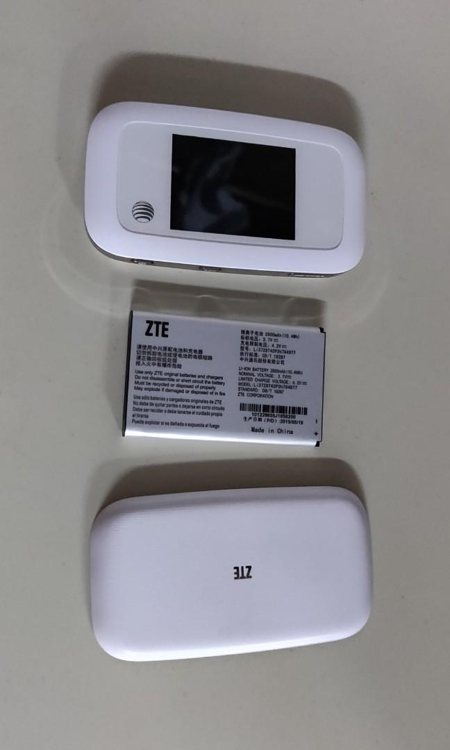 ZTE MF923 Mobile wifi router 4G Lte, Mobile Phones & Tablets