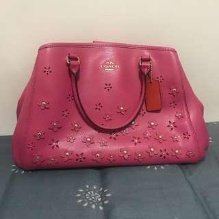 [$650手袋專區] 全新限量版Coach粉紅色手袋