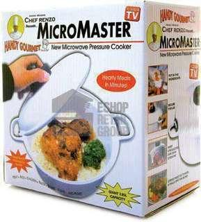 BNIB Chef Renzo MicroMaster Rice Cooker on TV