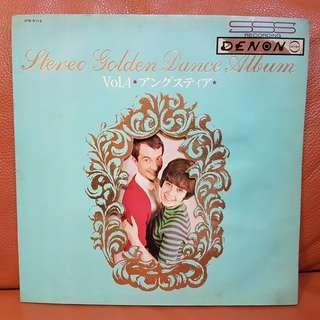 Stereo Gokden Dance Album  Vinyl Record