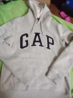 🚚 Gap 灰色 帽T 帽踢 S號 New