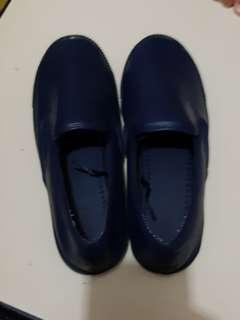 VINCCI Slip on Blue leather Shoes#TRU50