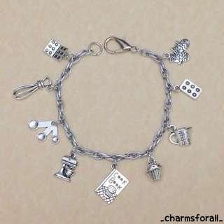 Baker Charm Bracelet