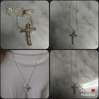 十字架項鍊*頸鏈*necklace