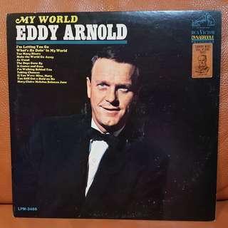Reserved: Eddy Arnold's My World Vinyl Record