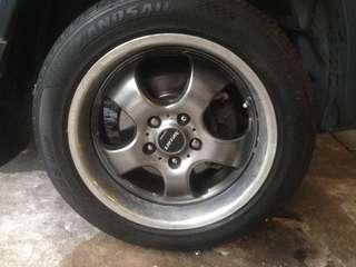 "Promotion Rim 17""+Tyre"