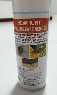 💡Newhunt total Release Aerosol(Bedbug killer)