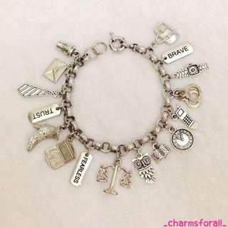 Lawyer/Judge Charm Bracelet