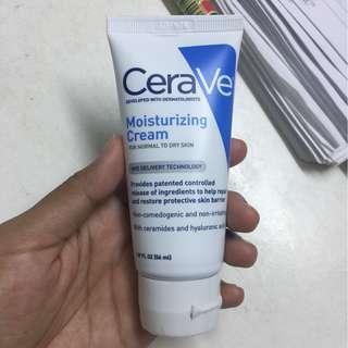 Cerave moisturizing cream (brand new)