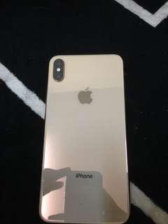 Iphone xs max 256 gb gold