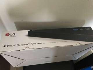 全新LG 4K Ultra Blu-Ray Disc Player 4K藍光機 UP970