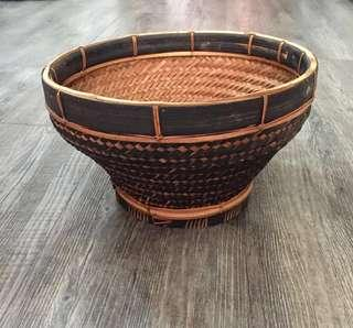 Lovely Hand Woven Rattan basket Balinese basket Indonesian basket Rice basket
