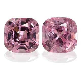 粉红尖晶石 1.07 克拉 / 2颗Pink Spinel 1.07 cts