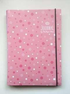 Paper Stone Pink Customizable Planner