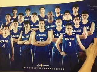 🚚 2019中華男籃世界盃資格賽海報