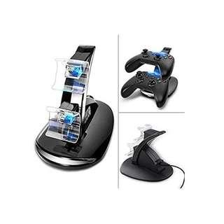 Xbox Controller Charger Dual Docking Charging Station Stand