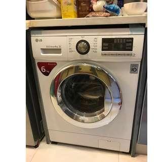LG 6KG 洗衣機 17年2月買入 10年保用