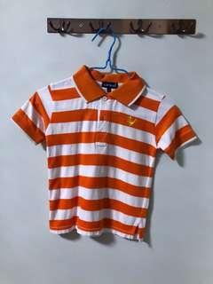 Boy Polo Tee size 3-4yo