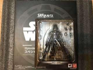 S.H.Figuarts Star Wars Darth Vader 星球大戰 黑武士連特典