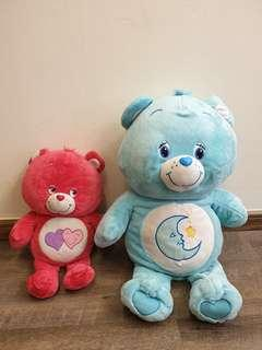Carebears and cat plush toy !