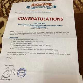 Desaru Coast Adventure Waterparks Tickets