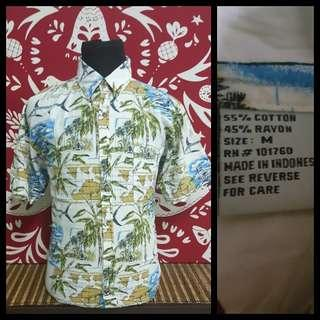 Kemeja hawaii